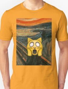 Edvard Munch Emoji Remix T-Shirt