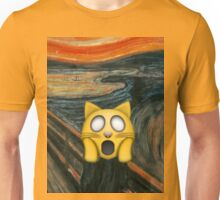 Edvard Munch Emoji Remix Unisex T-Shirt