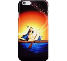 Disney Pocahontas on Galaxy iPhone Case/Skin