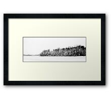 121210-105   A CERTAIN BEAUTY IN DESOLATION Framed Print