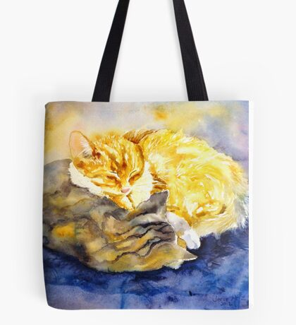 Cozy Kitties Tote Bag