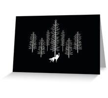 Fantastic Wolf Greeting Card