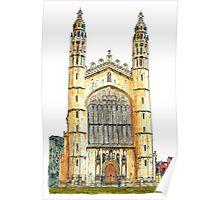 King's College Chapel, Cambridge Poster