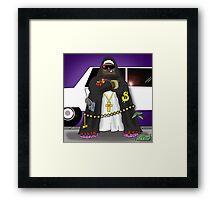 Mutha Soo-Peer-I-Yah Framed Print