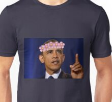 Obama Flower Crown Unisex T-Shirt