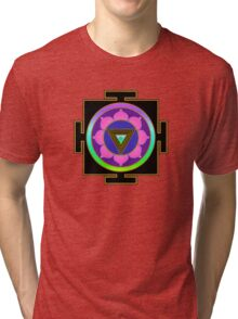 Kali Yantra Tri-blend T-Shirt