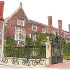 Magdalene College, Cambridge by Ian Bracey