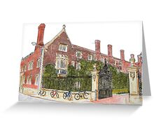 Magdalene College, Cambridge Greeting Card