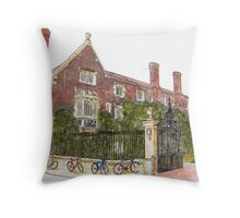 Magdalene College, Cambridge Throw Pillow