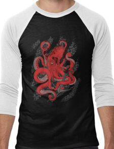 Anchors Away Men's Baseball ¾ T-Shirt
