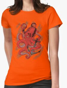 Anchors Away Womens Fitted T-Shirt