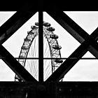 London Eye X + O by RIDGEWORKS