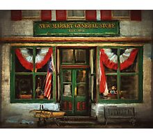 New Market General Store Photographic Print