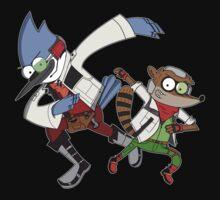 Star Fox x Regular Show Hoodie T-Shirt