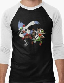 Star Fox x Regular Show Hoodie Men's Baseball ¾ T-Shirt