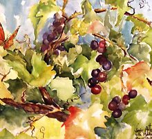 Monarch in the Vineyard by Artzart