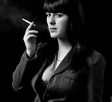 Smoking by Mark David Barrington