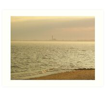 Provincetown From Afar Art Print