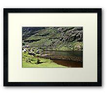 Gap of Dunloe co kerry Framed Print