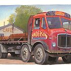 AEC Mammoth Major Tinfront by Mike Jeffries