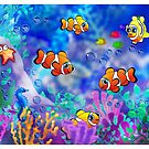 Clownfish by murals2go