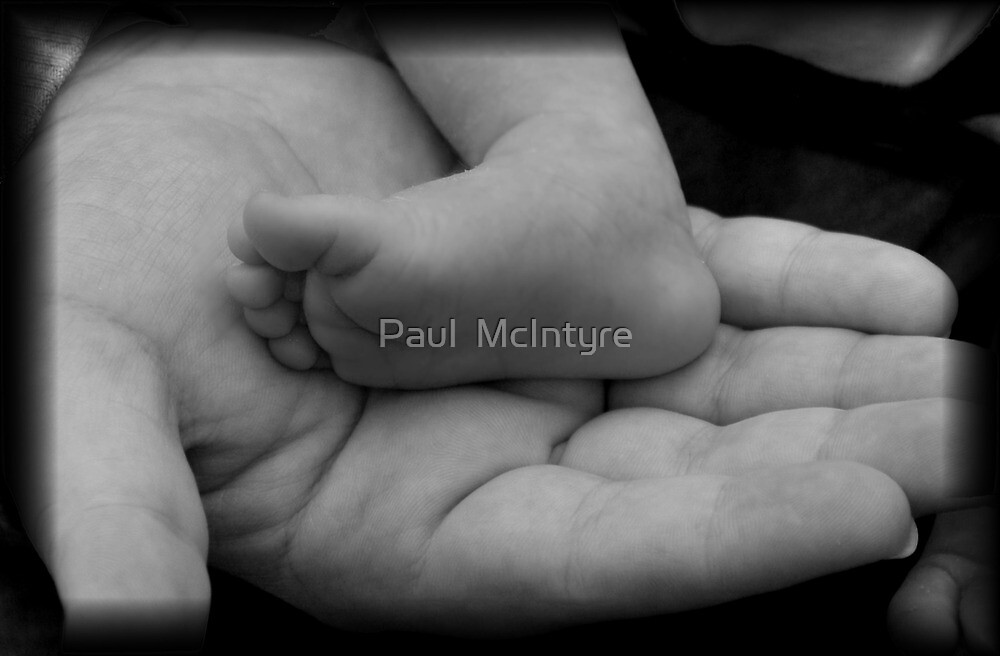 His Whole World In His Hands by Paul  McIntyre