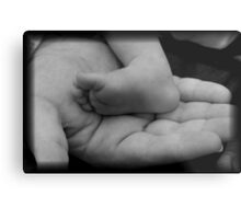 His Whole World In His Hands Metal Print