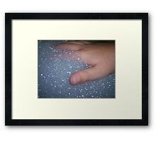 Bubble - trouble Framed Print