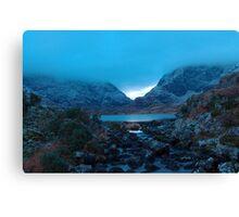 blur    ( gap of dunloe co. kerry)  two Canvas Print