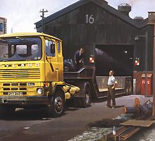 Leyland Marathon lowloader. by Mike Jeffries