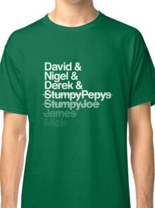 Spinal Tap - The Helvetica Music Project Classic T-Shirt