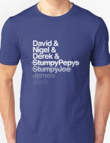 Spinal Tap - The Helvetica Music Project Unisex T-Shirt