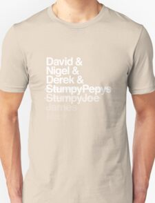 Spinal Tap - The Helvetica Music Project T-Shirt