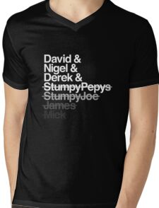 Spinal Tap - The Helvetica Music Project Mens V-Neck T-Shirt