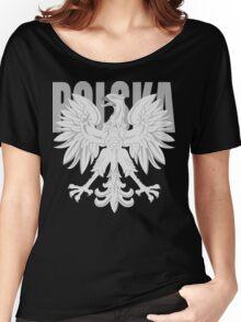 Polska Eagle t shirt Women's Relaxed Fit T-Shirt