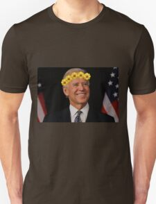 Joe Biden Flower Crown Unisex T-Shirt