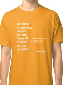 Jimmy Buffett - The Helvetica Music Project Classic T-Shirt