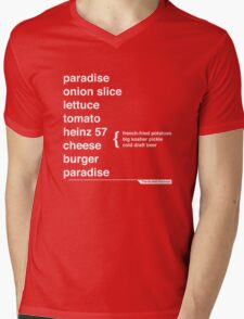 Jimmy Buffett - The Helvetica Music Project Mens V-Neck T-Shirt