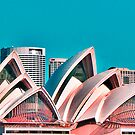 Sydney Opera House. by Lynne Haselden
