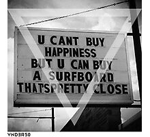 VNDERFIFTY HAPPINESS Photographic Print