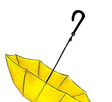 The Yellow Umbrella by Reilly Ballantyne