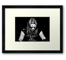 Satanic Warmaster Framed Print