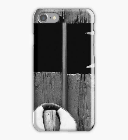 Old Barn Facade iPhone Case/Skin