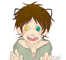 Smol Cat Eren Bean Photographic Print