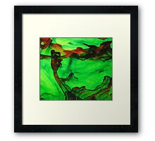 Abstract Grasp Framed Print