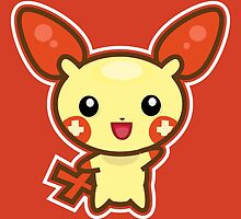 Plusle by Eat Sleep Poke Repeat
