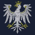 Polish Vintage Eagle t shirt by PolishArt