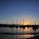 Wollongong Harbour at Dawn by Bryan Cossart