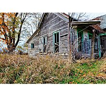 Old Decaying House Photographic Print