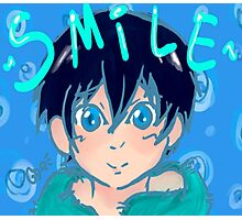 Smile with Haru! Photographic Print
